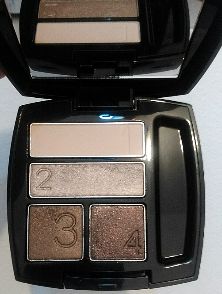 gallery/avon true color quad smokey brown